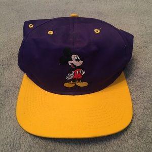 Vintage 90s Mickey Mouse SnapBack